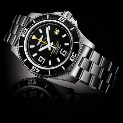 Mens Breitling Superocean II Watch